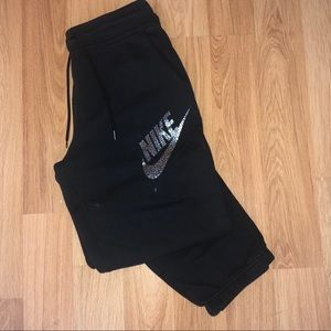 Nike soft black sweatpants